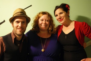 Ruby with the Quiet American, Aaron Keim and Nicole