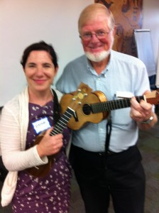 I had the wonderful opportunity to receive Uke wisdom from the man himself.