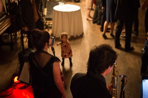 I love this photo of a wedding we recently played, this little girl was mesmerized.